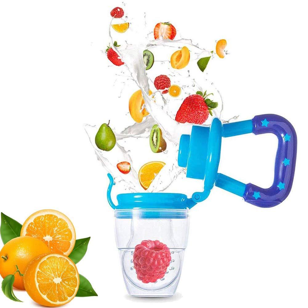 WENTS 6PCS Baby Fruit Feeder puede comer frutas verduras y alimentos cocinados mientras se divierte Alimentador de frutas para beb/és