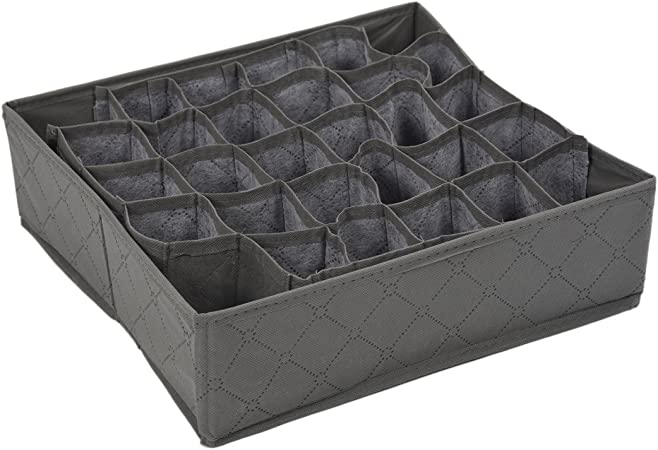 Organizador Caja de Almacenamiento 30 Compartimientos Carbon de ...