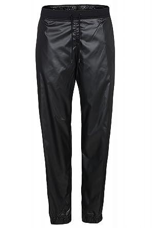 NIKE Wmns Woven Pant de las señoras pantalones de chándal Negro ...