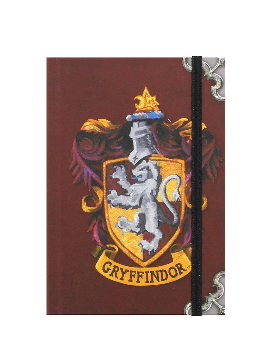 Harry Potter Gryffondor Les hogwarts maison badge portable a6 journal officiel