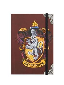 Harry Potter Gryffindor Hogwarts casa insignia portátil A6 Diario Oficial