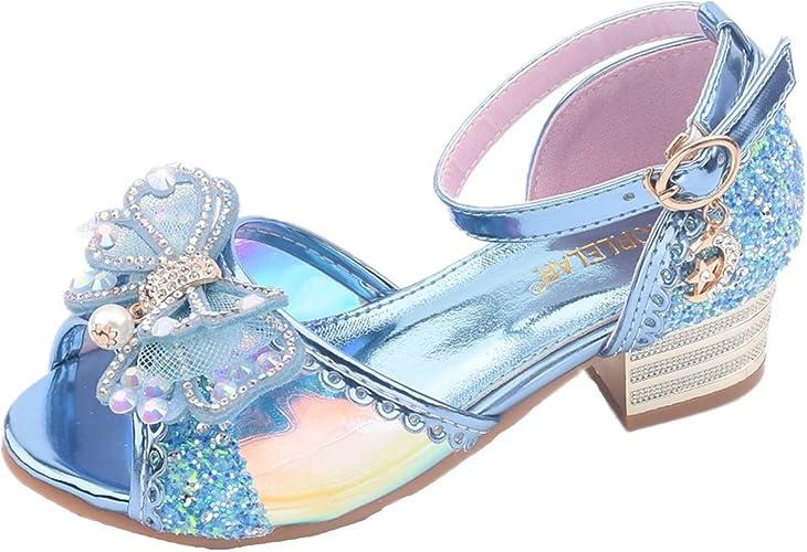 ELECTRI Enfants Princesse Chaussures bébé Sandales Rose