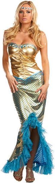 Traje de neopreno para mujer de la Sirenita de Copenhague disfraz ...