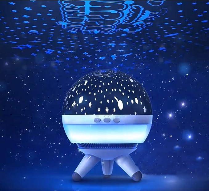Coopay - Proyector de luz LED para bebés con Forma de Estrella y ...