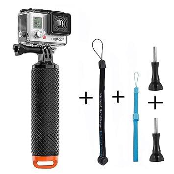 Homeet Palo Flotante Selfie Grib Flotador Empuñadura Deporte Acuático Monopod de Buceo para GoPro Hero 5