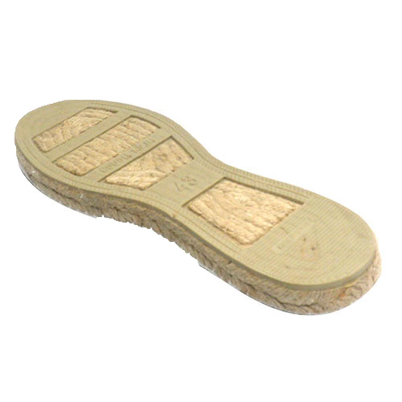 Alpargatas de Esparto Plana Made in Spain en Negro: Amazon.es: Zapatos y complementos