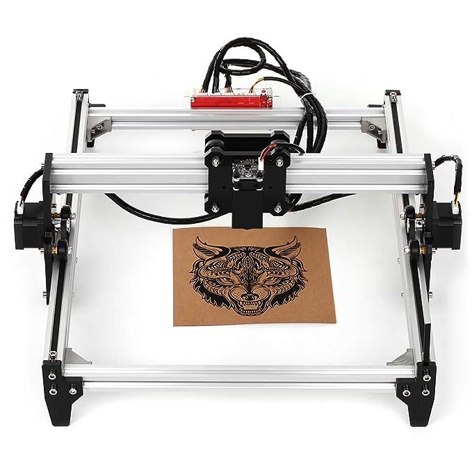 Fesjoy Máquina de Grabado Láser de Bricolaje de Escritorio ...