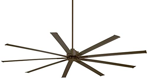 Minka-Aire F887-96-ORB Protruding Mount, 9 Oil Rubbed Bronze Blades Ceiling fan with 31 watts light, Oil-rubbed Bronze