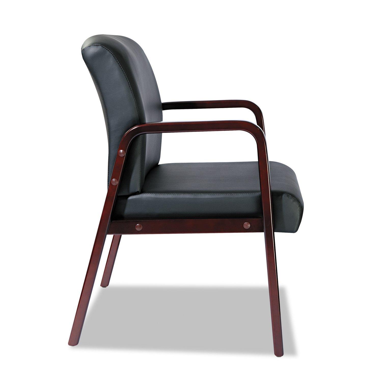amazoncom alera rl4319m alera reception lounge series guest chair leather kitchen u0026 dining