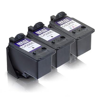 MS de Point® 3 cartuchos para impresora Canon Pixma MG3550 MG4250 ...