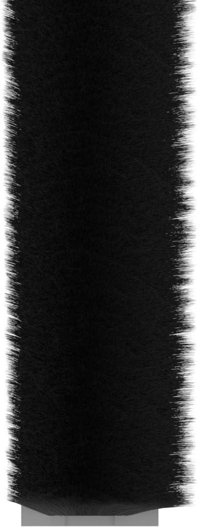 Stormguard 05SR474005MBL - Barra de cepillo autoadherente/tope de corriente, color negro, 5 m