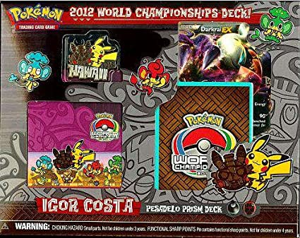 Pokemon World Championship Deck - Eeltwo Deck: Amazon.es ...