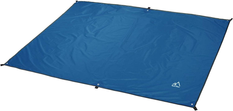 "Amazon.com : Terra Hiker Camping Tarp, Waterproof Picnic Mat,  Multifunctional Tent Footprint with Drawstring Carrying Bag for Picnic,  Hiking (Blue 94"" x 86"") : Sports & Outdoors"