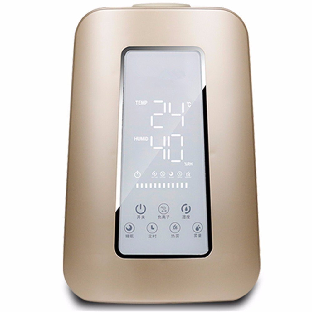 HOMEE Air humidifier lights intelligent hot fog timer remote control air conditioning humidifier office purification aroma