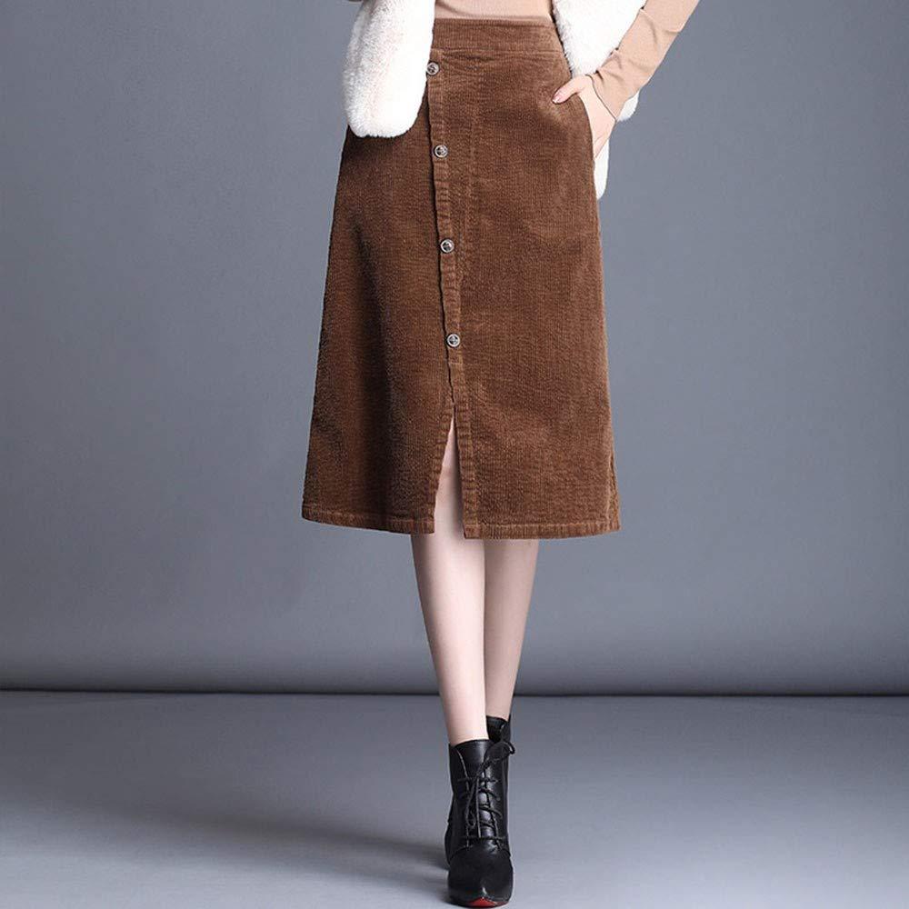 SWOVQ Falda Lápiz 3XL 4XL Tallas Grandes Falda Mujer Cintura ...