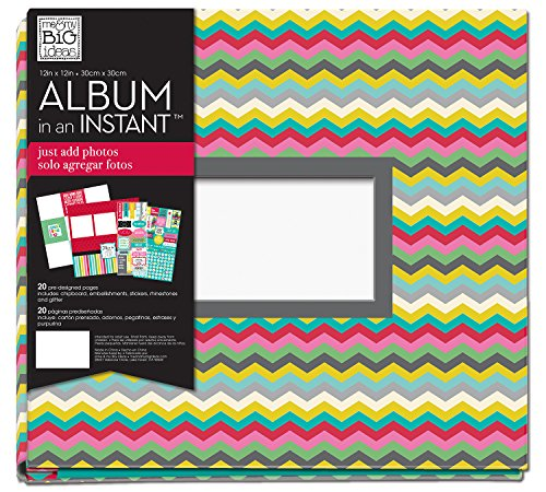 me & my BIG ideas Complete Album, Chevron Family, 12-Inch by 12-Inch ()