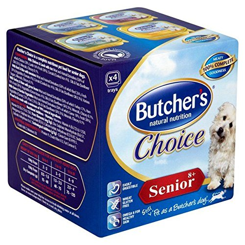 Butcher's Choice Senior 8+ Years 4 x 150g (PACK OF 4)