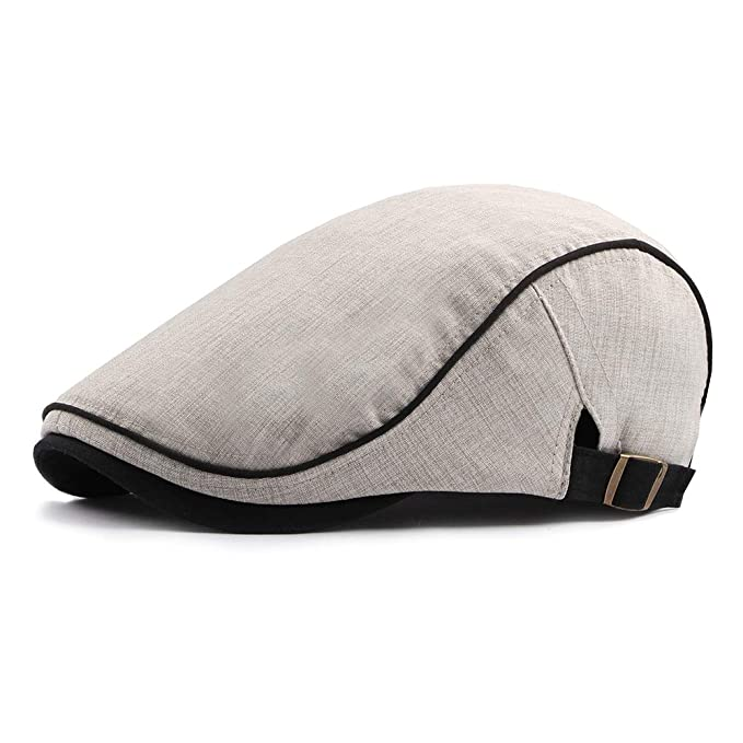 f4dbf2f5a47 Image Unavailable. Image not available for. Color  Gatsby Hats for Men  Newsboy Flat Ivy Cap Fashion Classic Cabbie ...