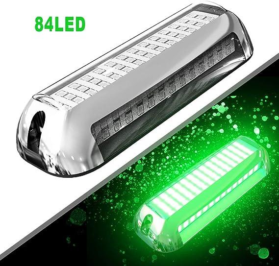 HUSUKU SOOP3 Plus 84LED 180°Unique Design Waterproof Stainless Steel High light Underwater boat lights