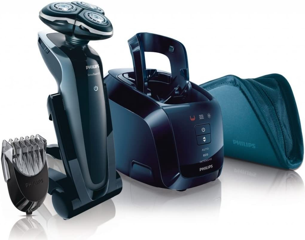 Philips SensoTouch 3D - Afeitadora (Negro, Batería, 1h, 1h, 2 Año ...
