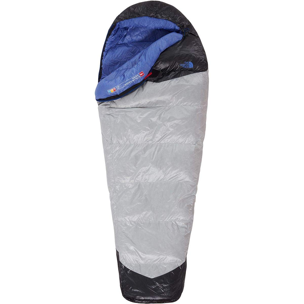 The North Face Kazoo Saco de Dormir, Mujer, High RSE Gry/Stellar Blue, Long: Amazon.es: Deportes y aire libre