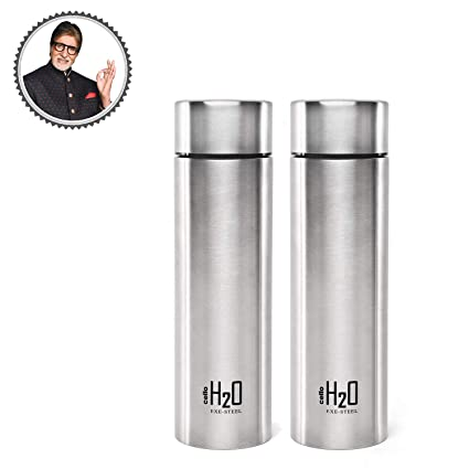 7f1a93d3e64 Cello H2O Stainless Steel Water Bottle Set
