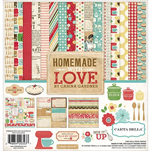 (Echo Park Paper Company CB-HL23016 Homemade with Love kit)
