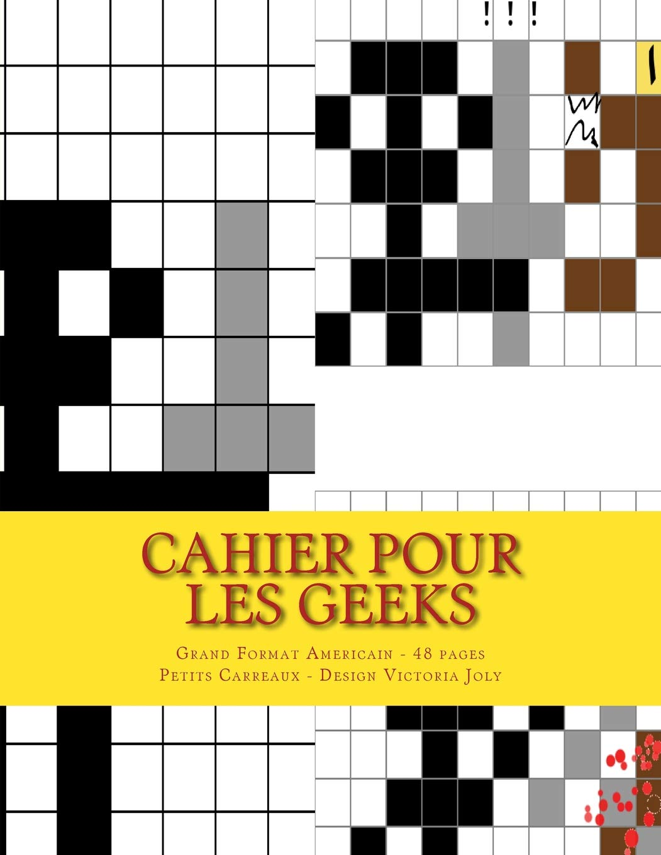 Amazonfr Cahier Pour Les Geeks Grand Format Americain