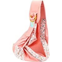 Baby Carrier | Baby Wrap Carrier Ring Sling Portable Infant Breastfeeding Nursing Carriers for Newborn Toddlers,Soft and…