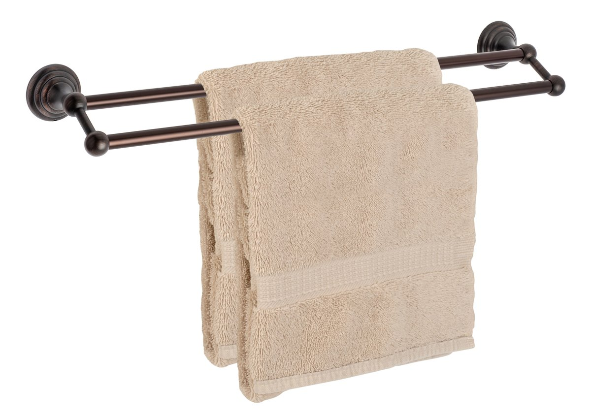 Dynasty Hardware 7516-ORB Bel-Air 24'' Double Towel Bar Oil Rubbed Bronze