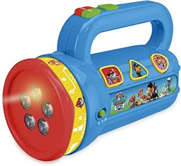 PAW PATROL - Linterna proyector (Cefa Toys 00433): Amazon.es ...