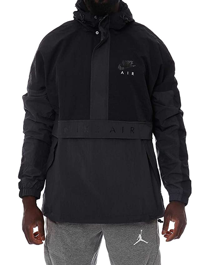 Amazon.com: NIKE Mens M NSW JKT HD Air 861634-010_M - Black ...