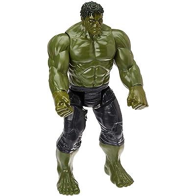 Marvel Infinity War Titan Hero Series Hulk with Titan Hero Power FX Port: Toys & Games