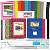 Silhouette Cameo 3 Machine Bundle 42: Glitter Siser Heat Transfer Vinyl, Oracal Adhesive Backed Vinyl, Designs & Tools