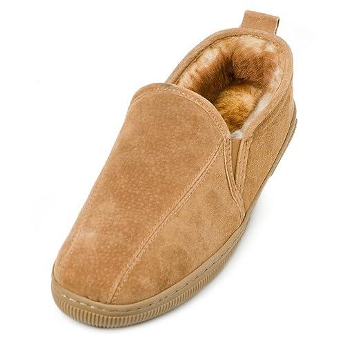 008b363fc Lamo Mens Romeo Suede Loafer Slippers  Amazon.ca  Shoes   Handbags