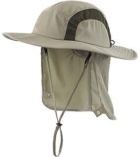 Home Prefer Kids Safari Hat UPF 50+ Sun Protective Cap Boys Bucket Hat with  Flap eb5920c7b4b0