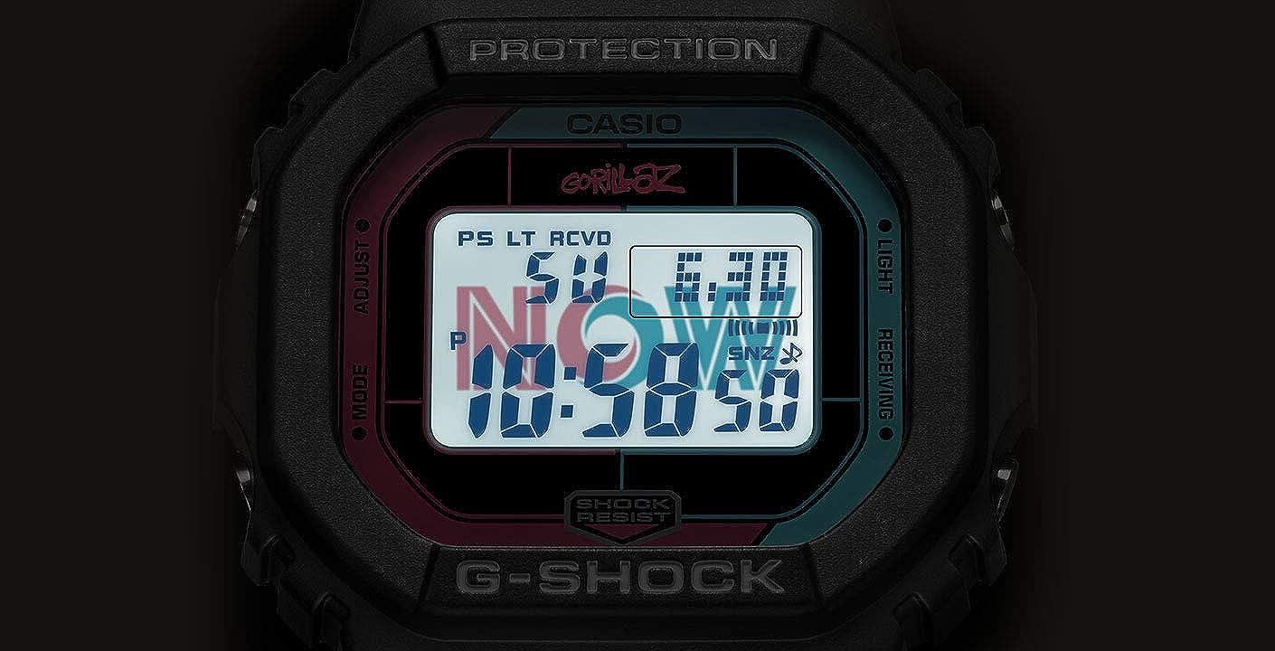 Casio G-Shock - Reloj digital edición limitada X Gorillaz Gw ...