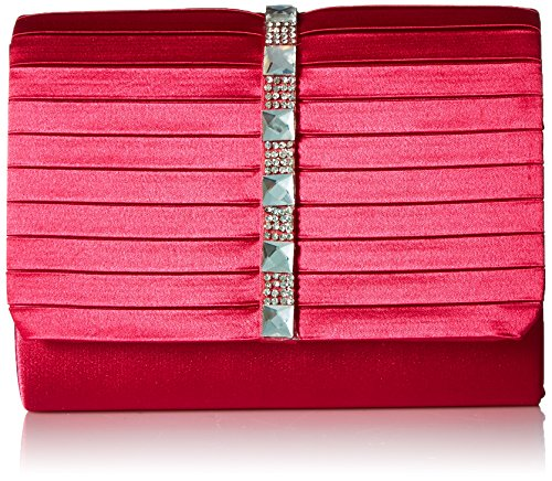 Clutch womens McClintock Jessica Katie Satin Raspberry Onq08