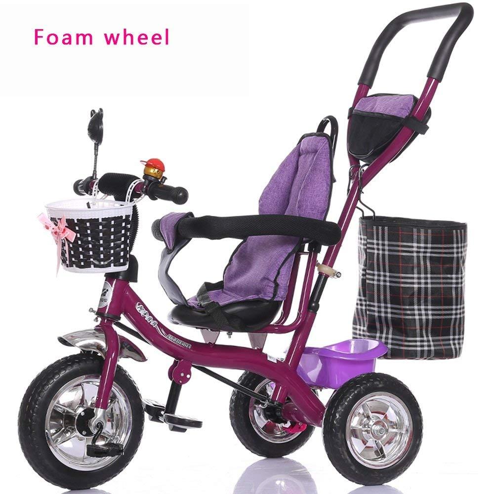 servicio honesto Yuany Cocheretilla de luz con Rueda Rueda Rueda de Burbujas, Bicicleta para niños, Bicicleta, Cochecito de niña, Triciclo para niños (Estilo  A)  autentico en linea