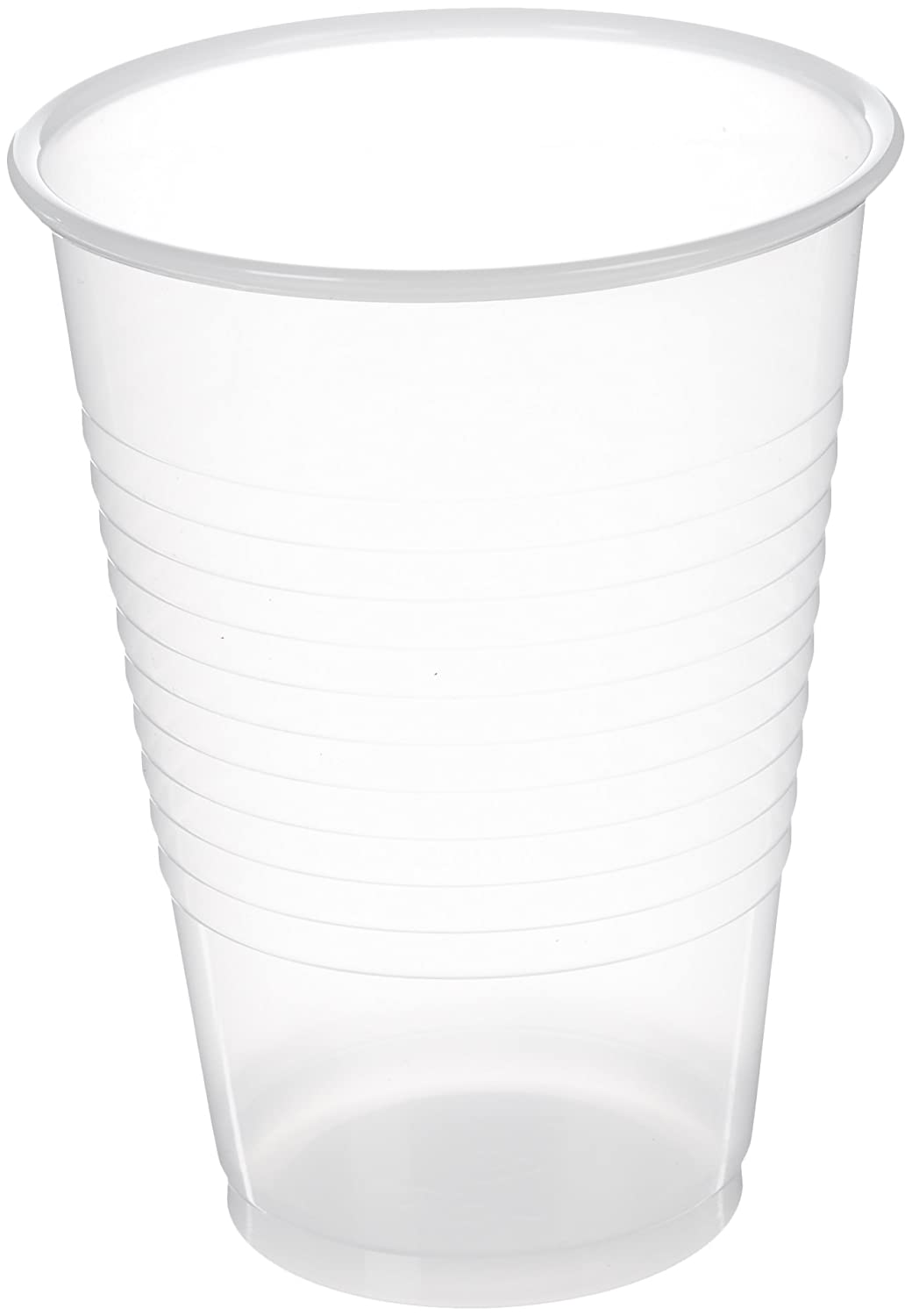 AmazonBasics Plastic Cups, Clear - 12-Ounce, 500-Pack