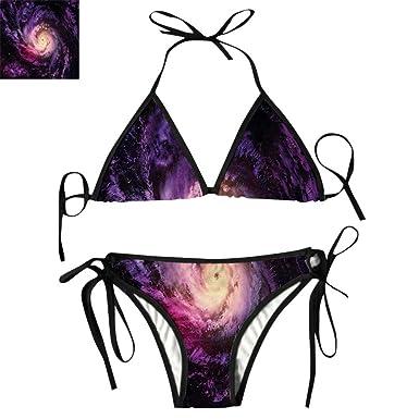 221ba44fcef4c Amazon.com: Triangl Bikini Set Cluster Digital Print: Clothing