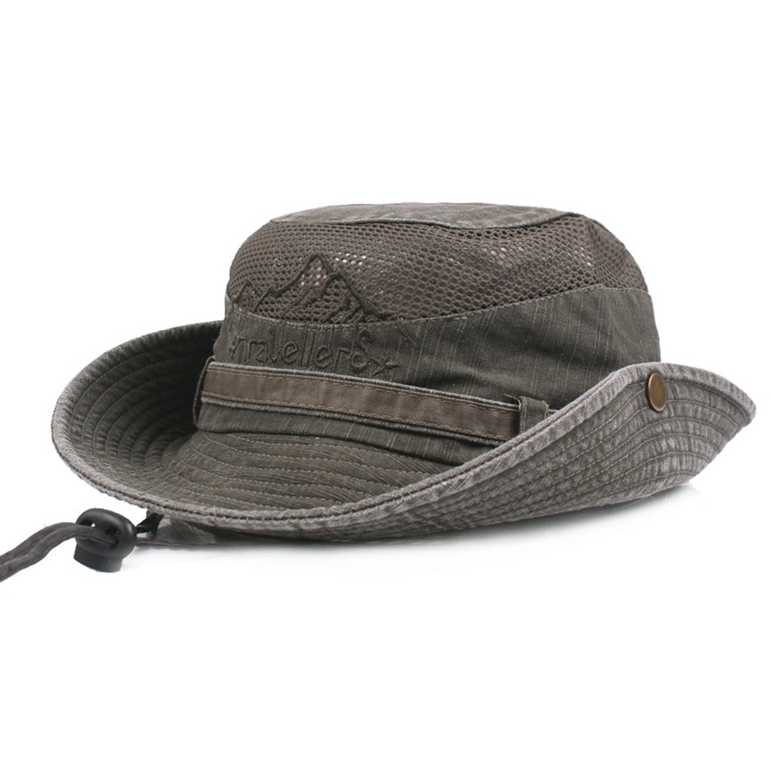 Belsen Mens Boonie Hat Summer Sun Caps Foldable Mesh Fishing Hat