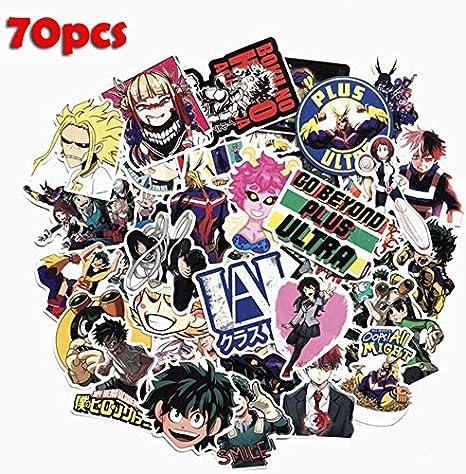 Juice-ma 50Pcs/100Pcs My Hero Academia Anime Pegatina Skate ...