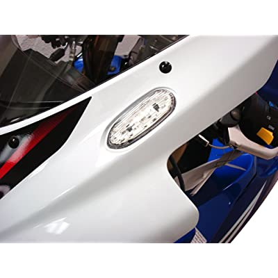 Hotbodies Racing S06GS-SIG-CLR LED Blinker/Mirror Block-Off with Clear Lens: Automotive