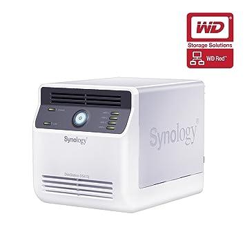 Synology DS413J 12TB (4 x 3TB WD Red) DiskStation 4 Bay Desktop NAS
