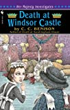 Front cover for the book Death at Windsor Castle by C. C. Benison