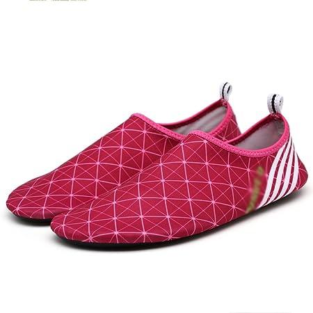 Nan Zapatos de natación Zapatillas de Snorkeling Niño Adulto ...
