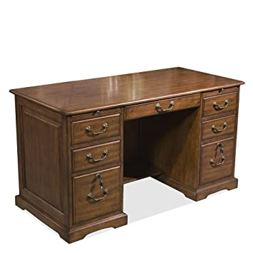 Charming Riverside Furniture Cantata Flat Top Computer Desk