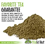 Instant Green Tea Powder - 100% Pure Tea - No Fillers, Additives or Artificial Ingredients of Any Kind 15 ✔ THE BEST GREEN TEA POWDER TO LOSE WEIGHT: Scientific studies have discovered that the main ingredients responsible for green tea slimming effects are caffeine and EGCG (epigallocatechin gallate). ✔ ONE SINGLE INGREDIENT: 100% pure green tea made from ground tea leaves. No flavors, preservatives, colors or fillers of any kind added. Not the diluted, off-tasting chemical filled product you're used to buying in the supermarket. This is as pure as it gets! ✔ HEALTHY ALTERNATIVE TO COFFEE: Minimally processed, and free of additives, Tea Factory Instant Green Tea offers a delicious, easy to consume instant tea that contains over one hundred times more antioxidants as compared to brewed tea.