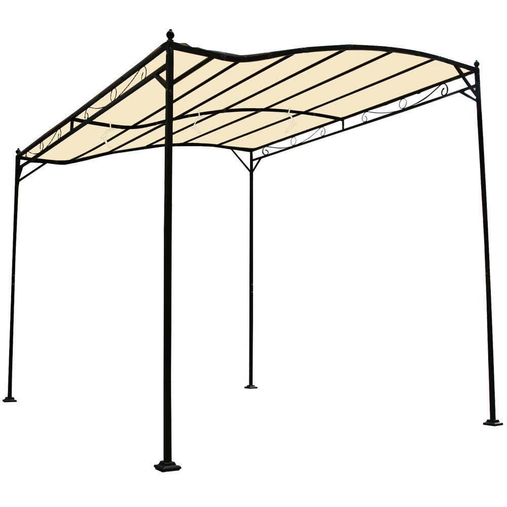 Miadomodo Metal Garden Pavilion Beige 3 X 2.5 X 2.5 M: Amazon.co.uk: Sports  U0026 Outdoors